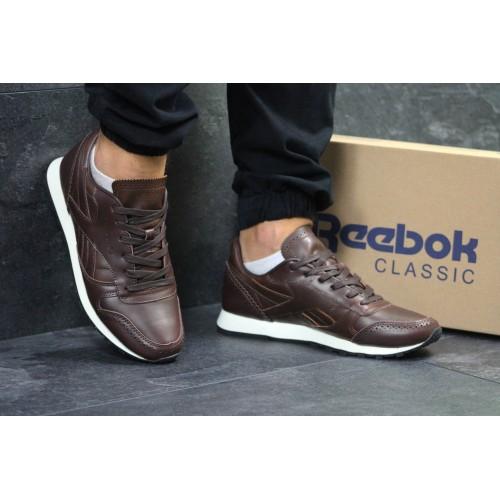 Reebok Classic темно коричневые