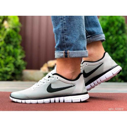 Nike free run 3.0 серые