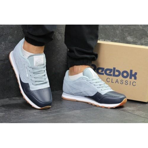 Reebok classic dark gray with gray blue