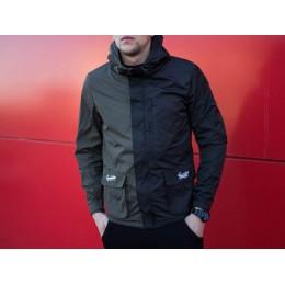 Куртка Segmentation Jacket (Black- Кhaki)