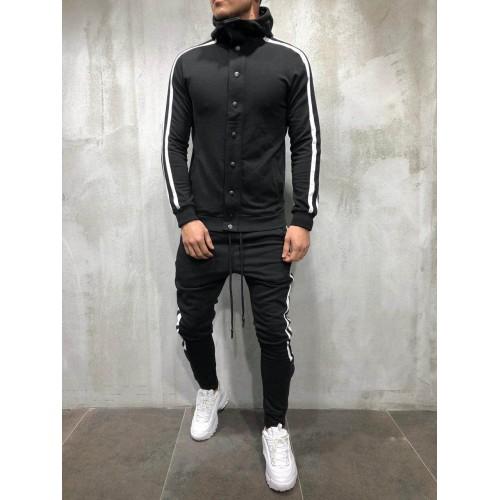 Спортивний костюм черный BRS