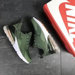 Кроссовки Nike Air Max 270 темно зеленые