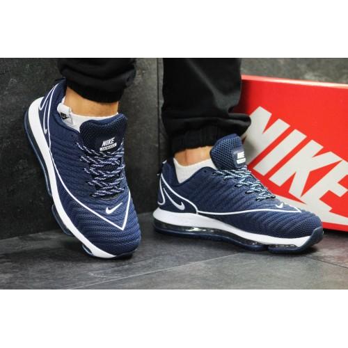 Nike Air Max DLX темно синие с белым