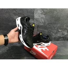 Кроссовки Nike Air Max Tn чорно білі (зима)