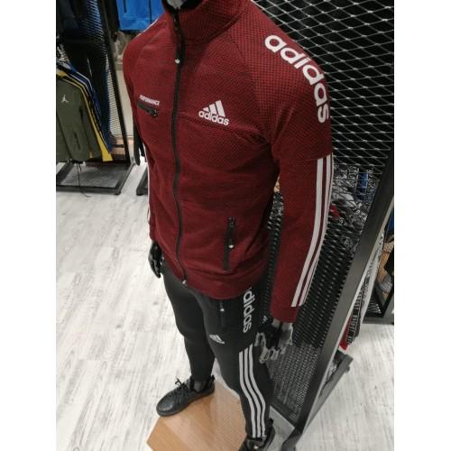 Мужской спортивный костюм Adidas Performance красный