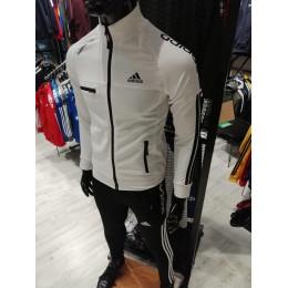 Мужской спортивный костюм Adidas Performance белый