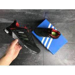 Кроссовки Adidas Marathon черные с красным