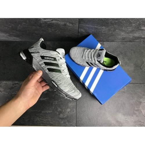 Кроссовки Adidas Marathon черные с серым