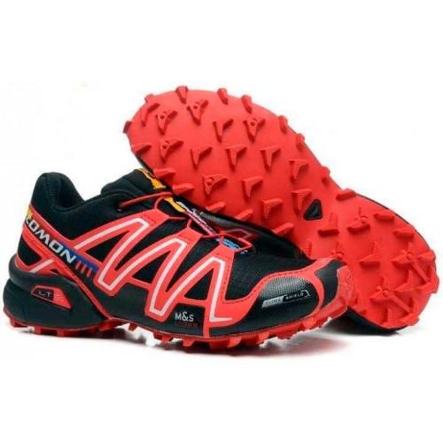 Salomon Speedcross 3 черные с красным