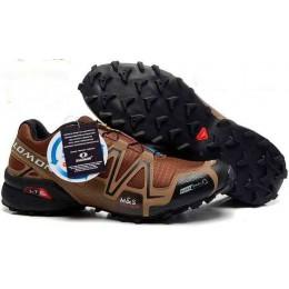 Salomon Speedcross 3 коричневые
