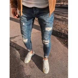 Мужские джинсы рваные