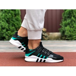 Adidas Equipment черно белые с зеленым