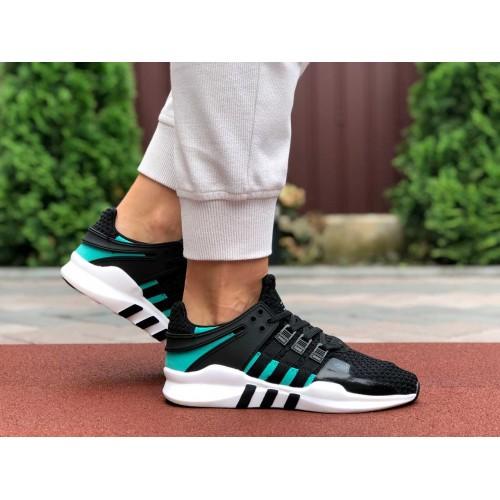 Кроссовки Adidas Equipment (EQT) черно белые с зеленым Купить Цена Производителя