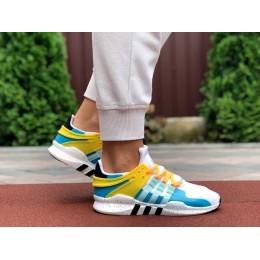 Adidas Equipment белые с голубым