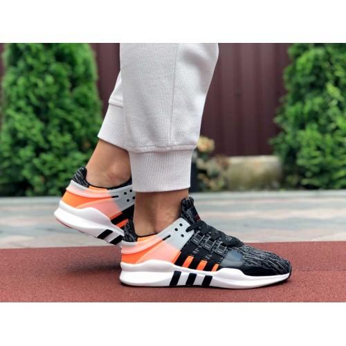 Кроссовки Adidas Equipment (EQT) черные с красным \ оранжевые Купить Цена Производителя