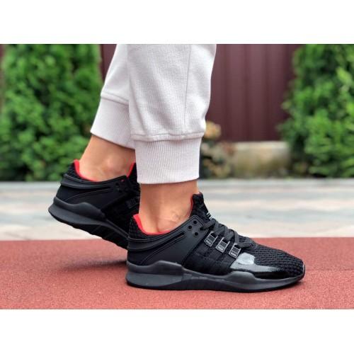 Кроссовки Adidas Equipment (EQT) черные с красным Купить Цена Производителя