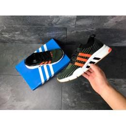 Adidas Equipment adv 91-18 темно зеленые с оранжевым