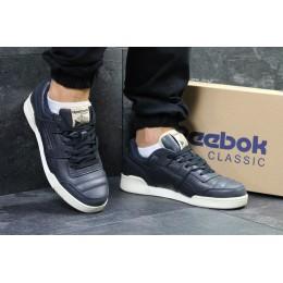 Reebok homme classic темно синие с бежевым