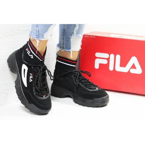 Кроссовки женские Fila Disruptor 2 черные