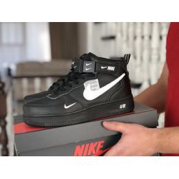 Nike Air Force черно белые