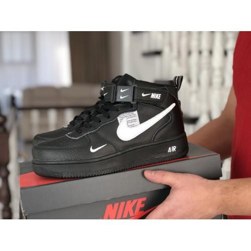 Nike Air Force Black and White