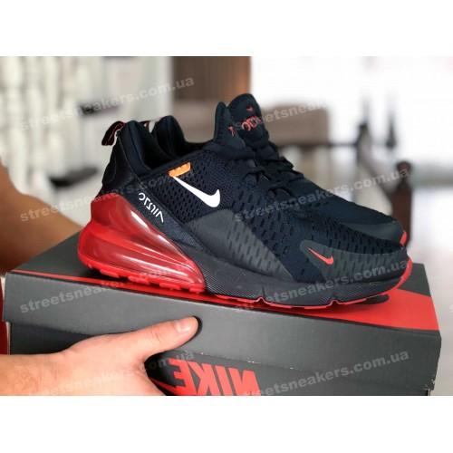 Nike Air Max 270 темно - синие с красным