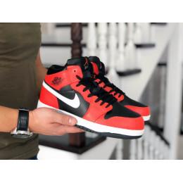 Nike Air Jordan 1 Ретро оранжевые с белым