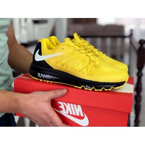 Nike Air Max 2015 желтые