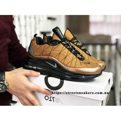 Кроссовки Nike Air Max 720  темне золото ( термо )