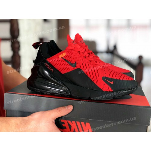 Nike Air Max 270 красные с черным