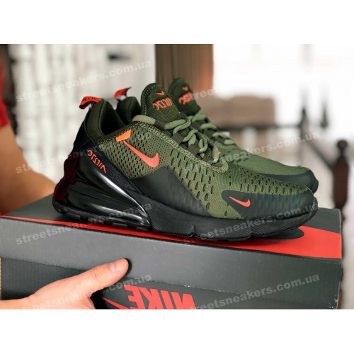 Nike Air Max 270 темно-зеленые