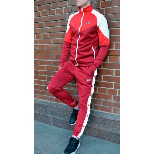 Спортивный костюм Nike Heritage красный