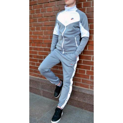 Спортивный костюм Nike Heritage серый