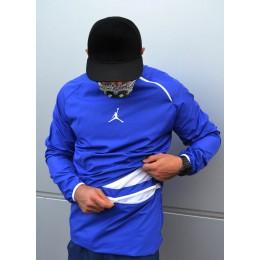Ветровка Jordan синяя