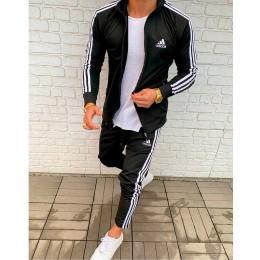 Мужской спортивный костюм Adidas черный
