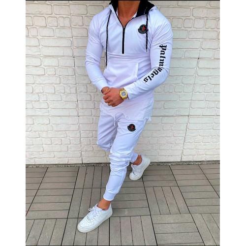 Мужской спортивный костюм Palm Angels белый