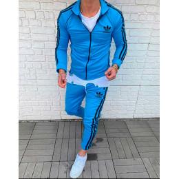 Спортивный костюм ADIDAS голубой