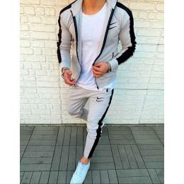 Спортивный костюм Nike Swoosh серый