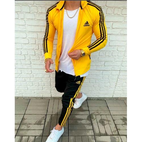 Спортивный костюм Adidas желтый