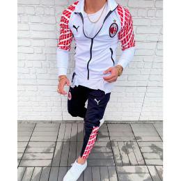 Мужской спортивный костюм Puma белый Милан