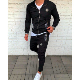 Мужской спортивный костюм PHILIPP PLEIN черный