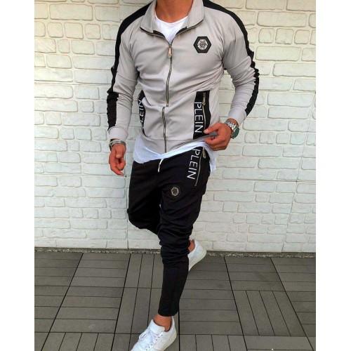 Мужской спорт костюм PHILIPP PLEIN серый