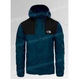 Ветровка The North Face 1985 Seasonal Mountain Jacket black синяя с черным
