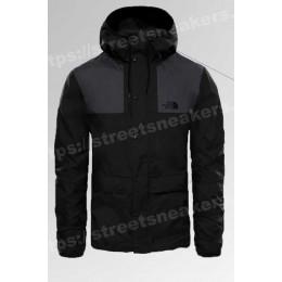 Ветровка The North Face 1985 Seasonal Mountain Jacket черная с серым