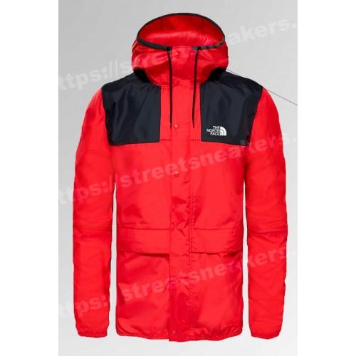 Мужская ветровка куртка The North Face 1985 Seasonal Mountain Jacket красная