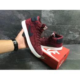Кроссовки Nike Jordan red (зима)