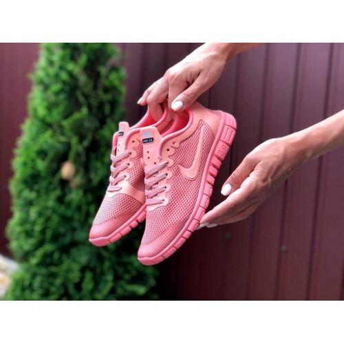 Nike Free Run 3.0 рожеві