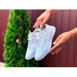 Nike Free Run 3.0 белые