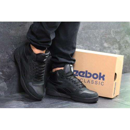 Кроссовки Reebok black (winter)