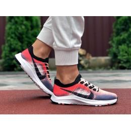 Кроссовки Nike Zoom красные с белым